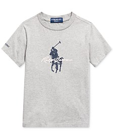 Polo Ralph Lauren Toddler Boys Pink Pony T-Shirt