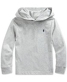 Polo Ralph Lauren Toddler Boys Hooded Jersey Cotton T-Shirt