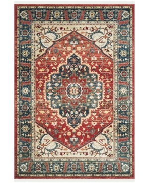 Lauren Ralph Lauren Chloe LRL1221A Red and Navy 9' X 12' Area Rug Product Image