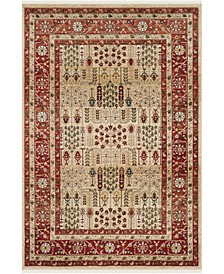 Margaux LRL1297C Red and Beige 9' X 12' Area Rug