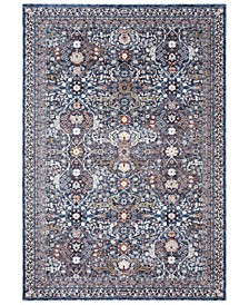 "Belvoir LRL1300A Navy 7'9"" X 10' Area Rug"