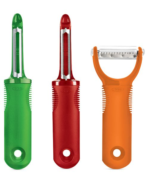OXO Peeler Set, 3 Piece Good Grips