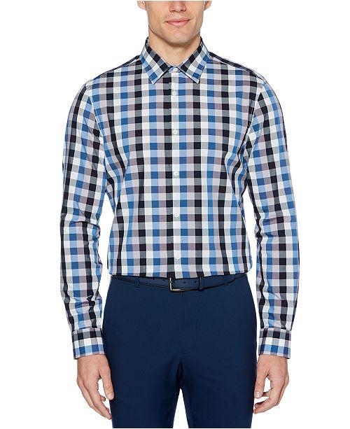 Perry Ellis Men's Regular-Fit Check Shirt