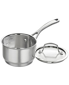Forever Stainless 1-Qt. Saucepan & Lid