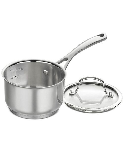 Cuisinart Forever Stainless 1-Qt. Saucepan & Lid