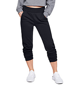 Under Armour Double Knit Fleece Track Pants