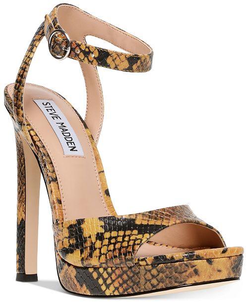 Steve Madden Women's Luv Platform Sandals