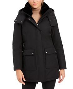 88ccdd494 Faux-Fur Trimmed Womens Coats - Macy's