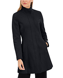 Calvin Klein Stand-Collar Walker Coat