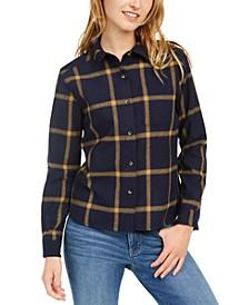 Cropped Wool Lodge Shirt