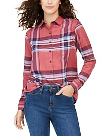Cotton Plaid Flannel Shirt