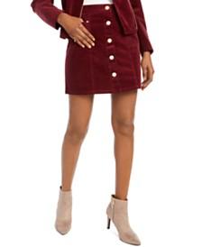 Maison Jules Corduroy Mini Skirt, Created for Macy's