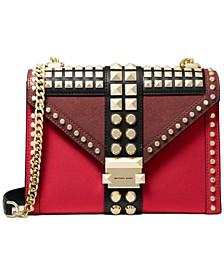 Whitney Large Leather Shoulder Bag