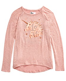Big Girls Unicorn Sparkle T-Shirt, Created For Macy's