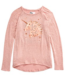 Epic Threads Big Girls Unicorn Sparkle T-Shirt, Created For Macy's