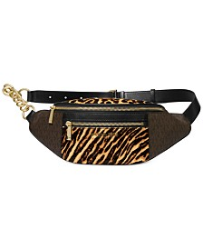 Michael Michael Kors Mott Leather Waistpack
