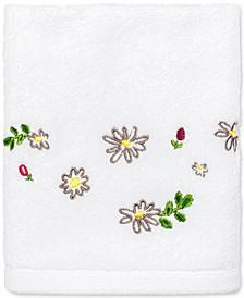 """Dahlias Cotton 18"""" x 27"""" Hand Towel"""
