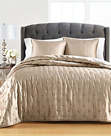 Tufted Satin Full/Queen Quilt, Created for Macy's