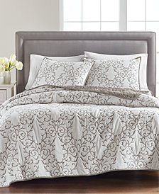 CLOSEOUT! 100% Cotton Chateau Quilt and Sham Collection, Created for Macy's