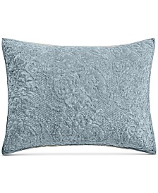 Martha Stewart Collection Velvet Flourish Quilted King Sham, Created for Macy's