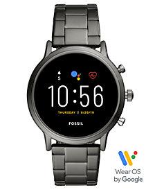 Fossil Tech Gen 5 Carlyle HR Smoke Bracelet Smart Watch 44mm