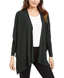 Open-Front Poncho Cardigan, Created For Macy's