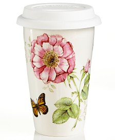 Lenox Travel Mug, Butterfly Meadow Thermal Travel Mug