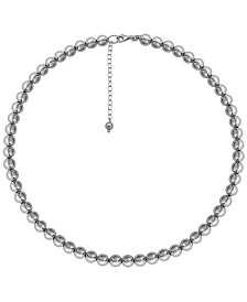 Prime Art & Jewel Sterling Silver Beaded Necklace