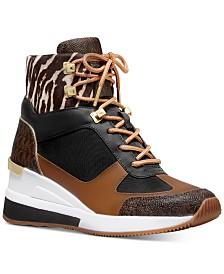 Michael Michael Kors Liv Wedge Sneakers