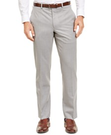 Lauren Ralph Lauren Men's Classic-Fit UltraFlex Stretch Sharkskin Suit Separate Pants