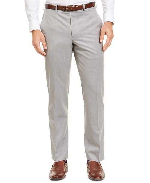 Lauren Ralph Lauren Men's Classic-Fit UltraFlex Stretch Sharkskin Suit Separate Pants