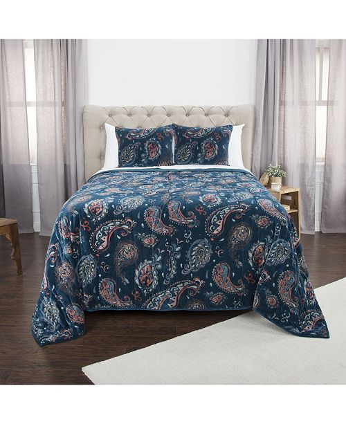 Rizzy Home Riztex USA Evanstar Quilt Collection