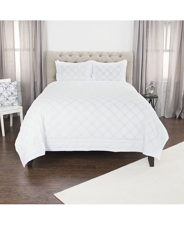 Rizzy Home Riztex USA Rappaport Queen Quilt