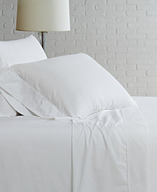 Brooklyn Loom Solid Cotton Percale Twin XL Sheet Set