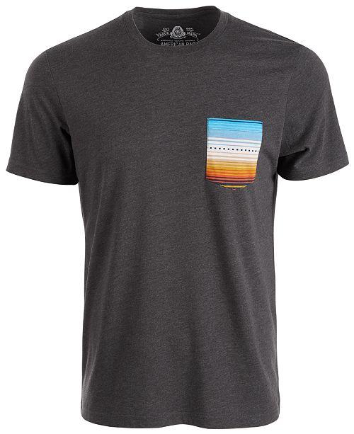 American Rag Men's Folk Pocket T-Shirt, Created For Macy's