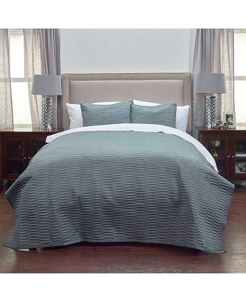 Rizzy Home Riztex USA Parker Queen Quilt