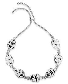 Hammered Disc Slider Bracelet, Created For Macy's