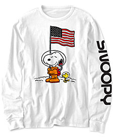 Peanuts Little Boys Snoopy In Space T-Shirt