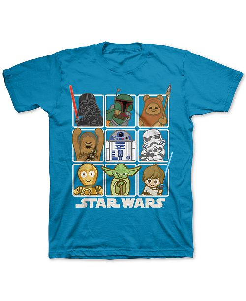 Star Wars Toddler Boys Squares T-Shirt