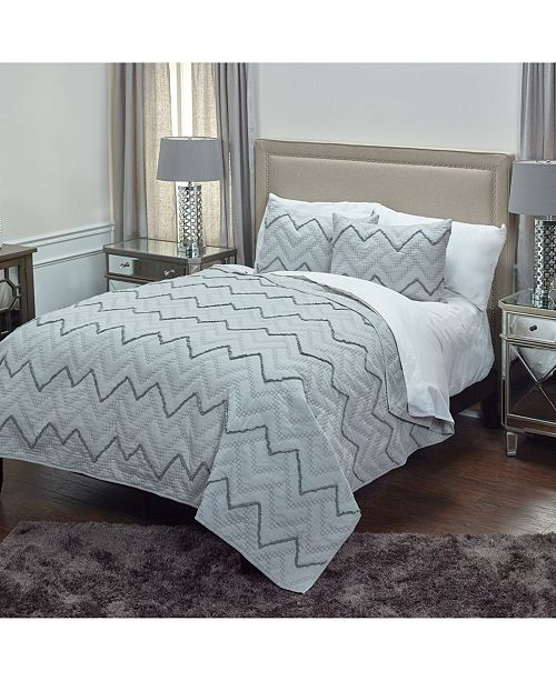 Rizzy Home Riztex USA Warren Queen Quilt