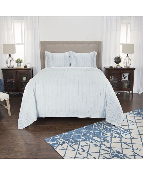 Rizzy Home Riztex USA Ventrice King Quilt