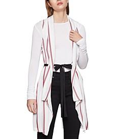 Striped Shirt Vest