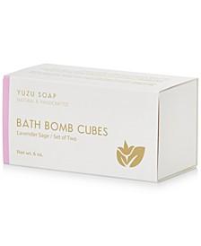 Bath Bomb Cubes - Lavender Sage, 6-oz.
