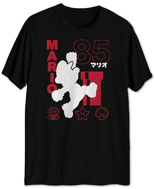 Jem Mario Super Star Men's Graphic T-Shirt