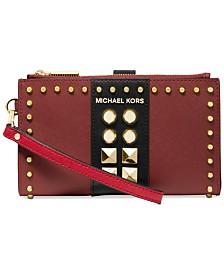 Michael Michael Kors Jet Set Double-Zip Wristlet