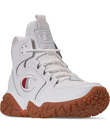 Champion Boys Tank Grid Mid Athletic Sneakers Boots from Finish Line
