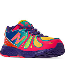 New Balance Little Girls' 890 Stay-Put Closure Running Sneakers from Finish Line