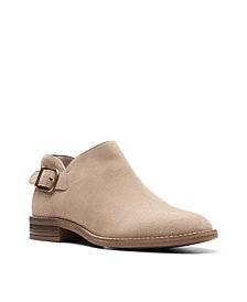 Clarks Collection Women's Camzin Pull Booties