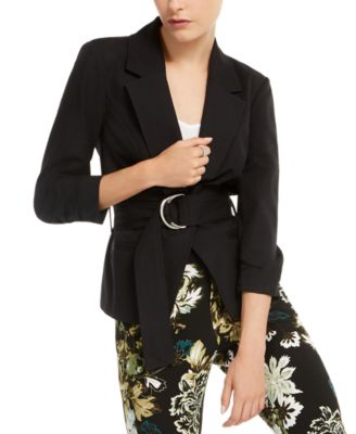 INC Belted Jacket, Created for Macy's
