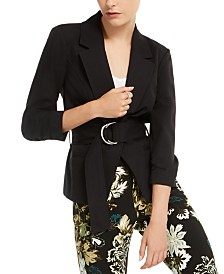 I.N.C. Belted Jacket, Created for Macy's